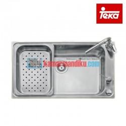 Teka Sink Dapur Bahia 1B Plus Stainless Steel