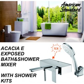 American Standard Acacia E Exposed Bath&Shower Mixer With Shower Kits