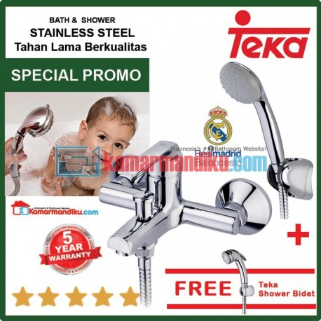 Teka Bathtub faucet with shower