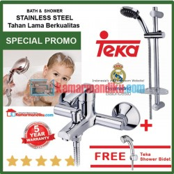 Teka faucet bath shower Stylo series