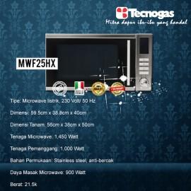 Tecnogas MWF25HX Built in Oven