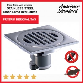 American Standard Deodorization Floor Drain / Channel Got Freedom from Rat entry