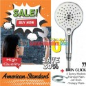 American Standard Rain Click Hand Shower Only Dan Hose 1.5 Meter