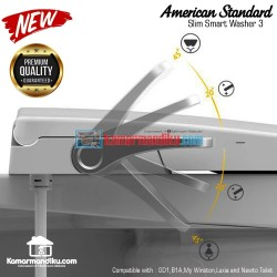 American Standard seat cover bidet terbaru new slim smart washer 3