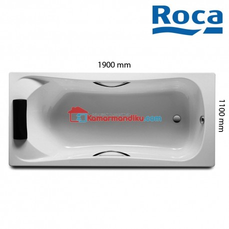 Roca Bathtub Becool Acrylic 190 cm