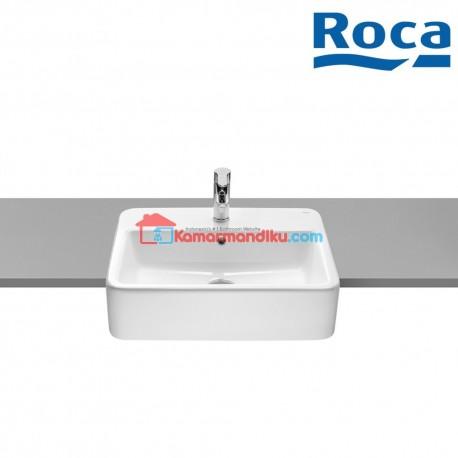Roca The Gap Semi recessed washbasin
