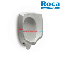 Roca Mural Vitreous china urinal with back inlet