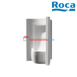 Roca Site Wall Vitreous china urinal with back inlet