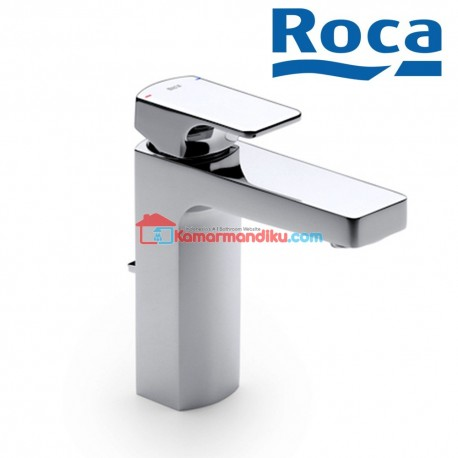 Roca L90 Basin Mixer With Aerator And Pop Up Waste