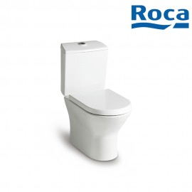 Roca Nexo Vitreous china closed-coupled wc. P-Trap or S-Trap 305 mm. Dual flush 4.5/3L