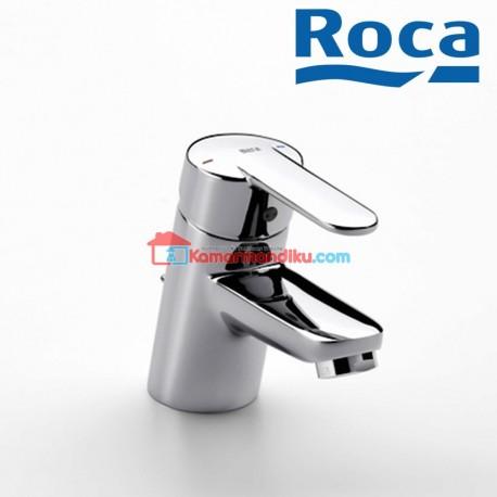 Roca Victoria Basin mixer with pop-up waste