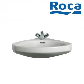 Roca Estudio Angular Wall hung vitreous china basin