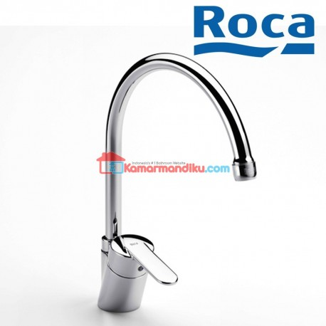 Roca Victoria Kitchen sink mixer with swivel spout