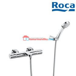 Roca T-1000 Shower mixer with diverter flow
