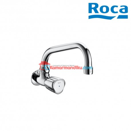 Roca sink tap with swivel spout