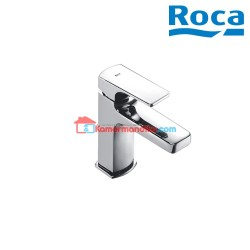 Roca Escuadra Wastafel tap with pop-up waste