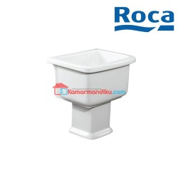 Roca Hamito vitreous china slop hopper Laundry sink