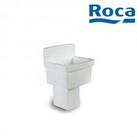 Roca Hamito Vitreous china with anti splash board Laundry sink