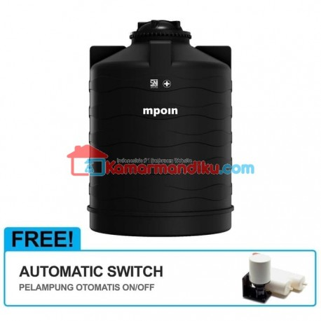 MPOIN PLUS Tangki Air Anti Pecah 1200 L