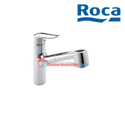 Roca Logica Kitchen Sink Mixer With Pull out Spout