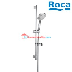 Roca Sensum Square 130 Shower Kit Dengan 4 Fungsi