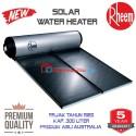 Rheem pemanas air tenaga surya kap 180 ltr Asli Australia built Up