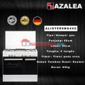 Azalea ALISTER9BG4VC Free Standing Cooker