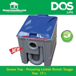Dos life Grease trap GT 05/GY15 Ltr