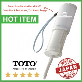 Toto travel Portable Washlet Bidet untuk backpacker YEW 350 Asli Japan