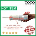 Toto travel Portable Bidet untuk backpackerYEW 350 Asli Japan