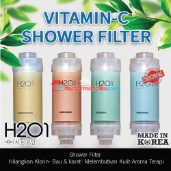 H201 Shower filter air Vit C minyak zaitun Asli korea Sweet peach