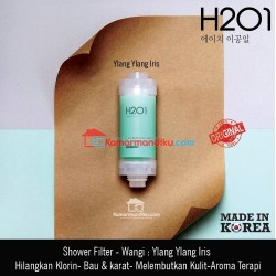 H201 Shower filter air Vit C minyak zaitun Asli korea Ylang ylang iris