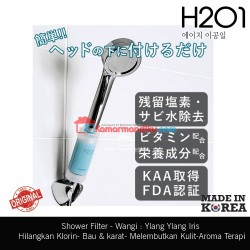 H201 Shower filter air Vit C minyak zaitun Asli korea Aqua Blue Lemon