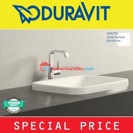 DURAVIT Washtafel DURASTYLE 037260 Counter top vanity Germany