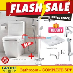 Grohe Smart Package Eurosmart Bathroom Limited Stock free gift