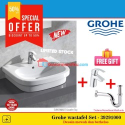 Grohe Paket Wastafel set New Eurosmart 39198000 basin counter top