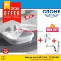 Grohe Paket Wastafel set New Eurosmart 39198000 basin counter top