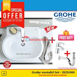 Grohe paket Set wastafel New Eurocosmo 39291000 basin stock terbatas