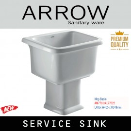 Arrow service sink toto SK322E SK 33 bak cuci mop basin terbaru