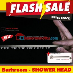 Head Shower tanam super tipis 20 cm + arm 40 cm toto american standard