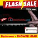 Head Shower tanam super tipis 20 cm + arm 40 cm toto american standard