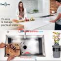 SinkGard Food Waste Disposer Alat Penghancur Sisa Makanan usa tech