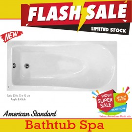 Flash Sale Premium Bathtub Spa American Standard Tonic 170 cm Acrylic