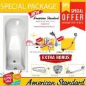 Paket Bathtub Complete Set American Standard Tonic 170 cm extra bonus