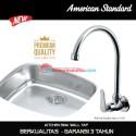 American Standard keran cuci piring tembok A 7115J kitchen wall tap