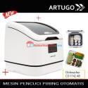 ARTUGO Digital alat pencuci buah sayur ozonizer + dishwasher CD 174 AB