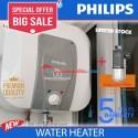 Philips New Water Heater pemanas air 15 L + penjernih air Pre filter