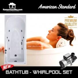 American Standard bathtub Tonic spa whirlpool jacuzzi 170 cm Acrylic