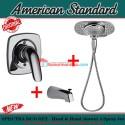 American Standard In wall Spectra duo 3in1 shower 4 spray jet hot cool