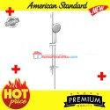 American Standard shower slide bar tiang tempat sabun 3 spray